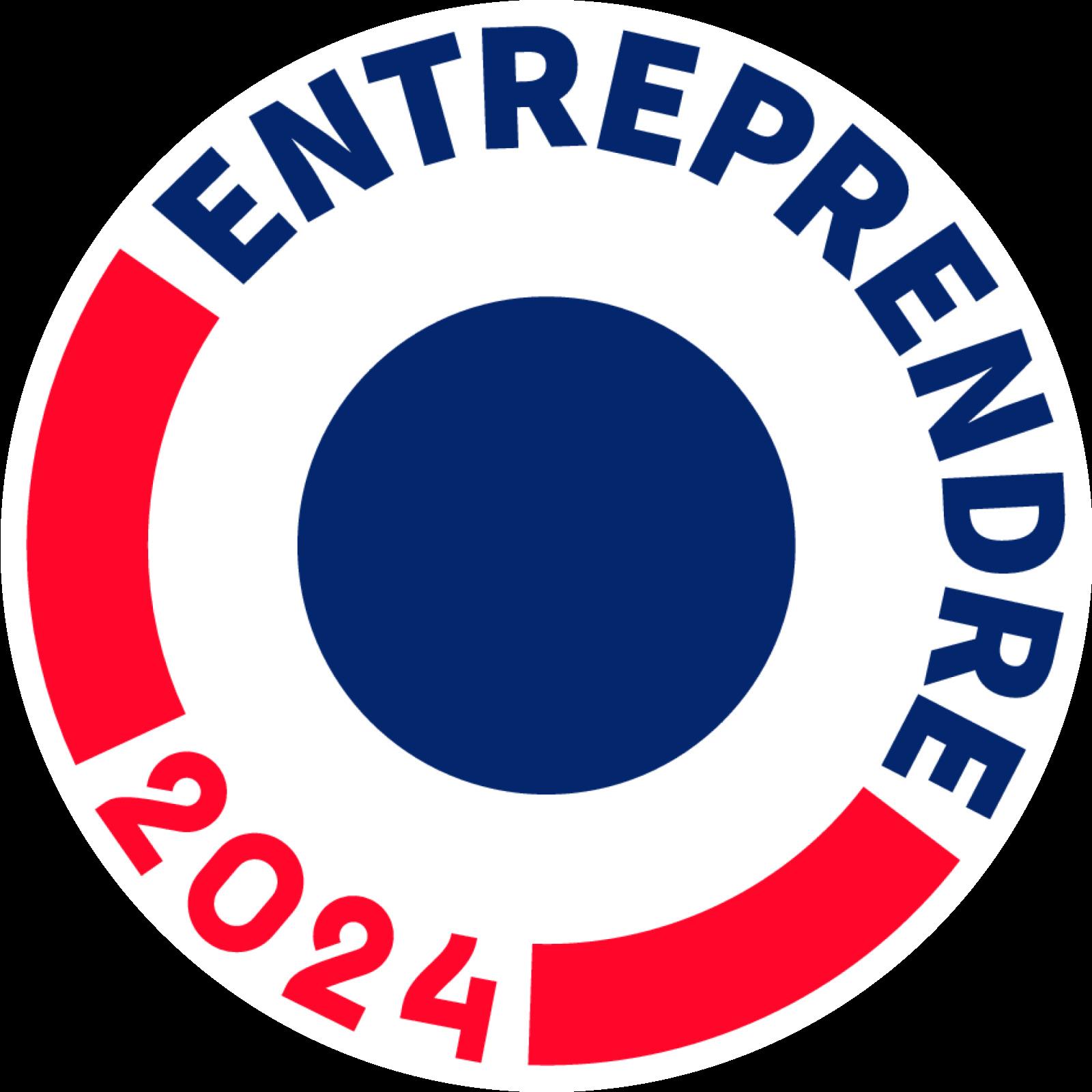 Logo BPCE - entreprendre 2024 arrondi